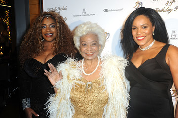 Carmen Carter Nichelle Nichols 85th Birthday Celebration