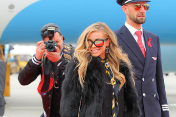 Carmen Electra Life Ball 2015 - Celebrities Arrive In Vienna