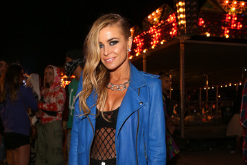 Carmen Electra NYLON And Olay Fresh Effects Present Neon Carnival With GUESS