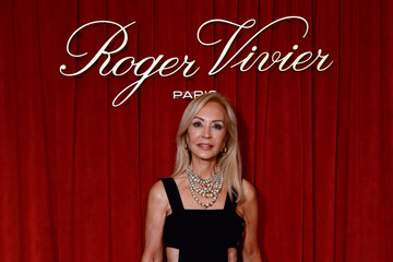 Carmen Lomana Roger Vivier Press Dinner At Fundacion Fernando De Castro