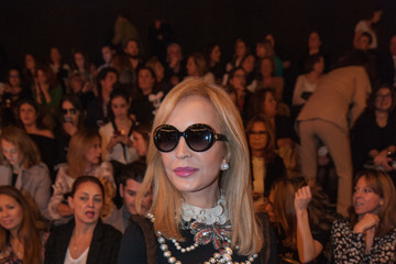 Carmen Lomana Celebrities - Day 4 - Mercedes Benz Fashion Week Madrid Autumn / Winter 2017