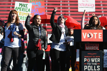 Carmen Perez 'Power to the Polls' Voter Registration Tour Launched in Las Vegas on Anniversary of Women's March