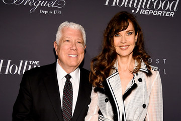 Carol Alt Dennis Basso The Hollywood Reporter's 9th Annual Most Powerful People In Media - Arrivals