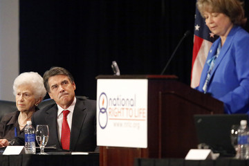 Carol Tobias Rick Perry Speaks at National Right to Life Convention