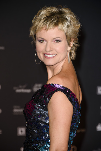 21st Aids Gala At Deutsche Oper Berlin [hair,hairstyle,blond,beauty,eyebrow,chin,lady,smile,shoulder,lip,carola ferstl,aids gala,deutsche oper berlin,germany]