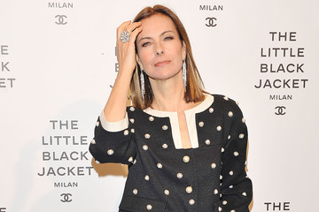Carole Bouquet Arrivals at a Chanel Event in Milan