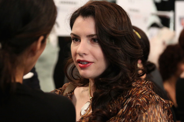 Attention Twi-Hards - Stephenie Meyer Spotted Backstage at Fashion Week!