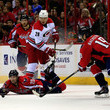 Nicklas Backstrom and Alexander Semin Photos