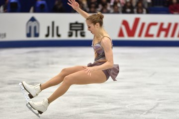 Carolina Kostner ISU Grand Prix of Figure Skating - Osaka