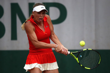 Carolina Wozniacki 2017 French Open - Day Six