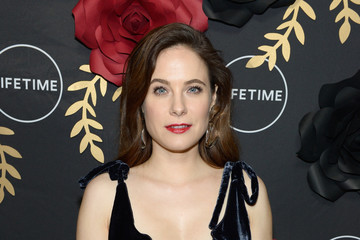 Caroline Dhavernas Lifetime Hosts Anti-Valentine's Bash for Premieres Of 'UnREAL' and 'Mary Kills People'