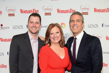 Caroline Manzo Woman's Day Red Dress Awards