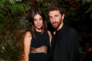 Julia Restoin Rotfeld and David Koma attends Caroline Rush, Julia Restoin Roitfeld and Bloomingdales Celebrate David Koma's 10th Anniversary at The Peninsula Hotel on October 30, 2019 in New York City.