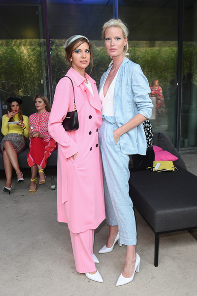 Celebrities At Marc Cain Fashion Show - Berlin Fashion Week Spring/Summer 2020