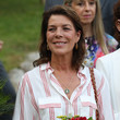 Caroline of Hanover The Traditional Monaco Pique-nique Attended by Princess Charlene and Prince Albert