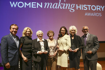 Carolyn Maloney National Women's History Museum's Annual Women Making History Awards Honors Former First Lady Laura Bush