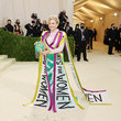 Carolyn Maloney The 2021 Met Gala Celebrating In America: A Lexicon Of Fashion - Arrivals