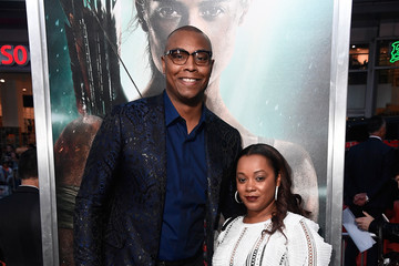 Caron Butler Premiere Of Warner Bros. Pictures' 'Tomb Raider' - Arrivals