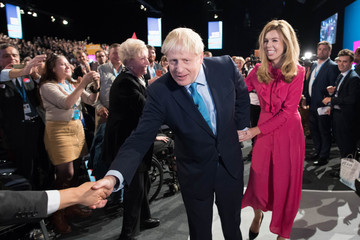 Carrie Symonds European Best Pictures Of The Day - October 02, 2019