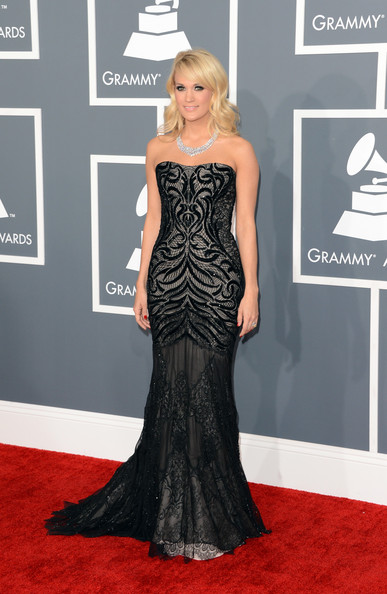 Carrie Underwood - The 55th Annual GRAMMY Awards - Arrivals