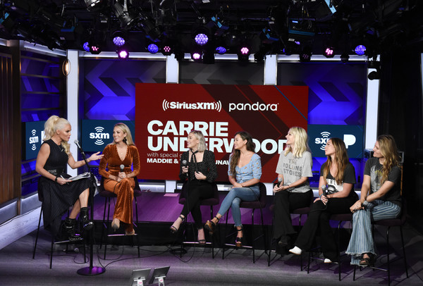 SiriusXM's Town Hall With Carrie Underwood In Los Angeles