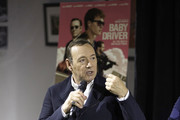 Actor/producer Kevin Spacey speaks on stage at the Cars, Arts & Beats: A Night Out With 'Baby Driver' event at Petersen Automotive Museum on October 4, 2017 in Los Angeles, California.