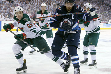 Carson Soucy Minnesota Wild vs. Winnipeg Jets - Game One