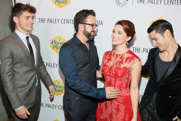 Carter Covington Katie Stevens The Paley Center For Media 2014 Los Angeles Gala Presented By Honey Maid