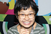 Voice actor Charlyne Yi signs autographs for fans at New York Comic Con on October 7, 2016 in New York City.