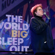 Caryl M. Stern The World's Big Sleep Out Takes Place On December 7th, 2019 In New York City's Times Square