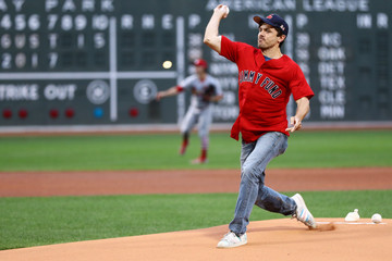 Casey Affleck St Louis Cardinals v Boston Red Sox