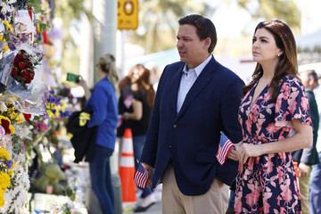 Casey DeSantis? Residential Building In Miami Partially Collapsed