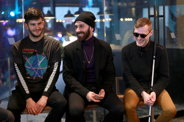Casey Harris The X Ambassadors Perform on the Verizon Up Stage at Super Bowl LIVE