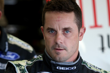 Casey Mears Charlotte Motor Speedway - Day 1