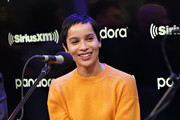 Zoe Kravitz and the cast of Hulu's High Fidelity sit down for an interview at the SiriusXM Studios on February 14, 2020 in New York City.