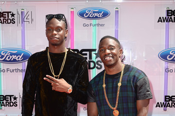 "Casyo ""Krept"" Johnson BET AWARDS '14 - Arrivals"