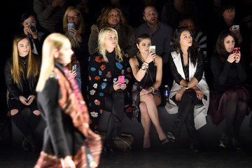 Cat Greenleaf Desigual - Front Row - Fall 2016 New York Fashion Week: The Shows