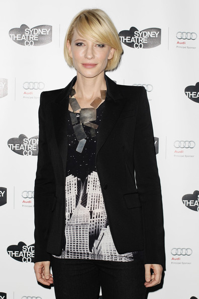"""Cate Blanchett Cate Blanchette poses ahead of the performance of the Sydney Theatre Company's """"Edward Gant's Amazing Feats of Loneliness"""" at the Wharf on June 22, 2011 in Sydney, Australia."""