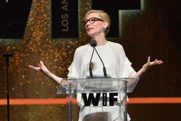 Cate Blanchett Woman in Film Crystal + Lucy Awards Show