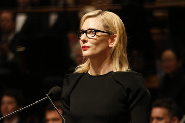 Cate Blanchett State Memorial Service Held for Gough Whitlam