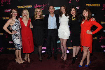 Cate Freedman Caitlin Barlow 'Younger' Season 2 and 'Teachers' Series Premiere - Arrivals