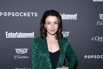 Caterina Scorsone Entertainment Weekly Celebrates Screen Actors Guild Award Nominees At Chateau Marmont Sponsored By L'Oréal Paris, Cadillac, And PopSockets - Arrivals