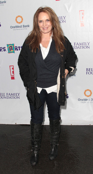 Catherine Bach - PS Arts Amazing Express Yourself Event - Arrivals