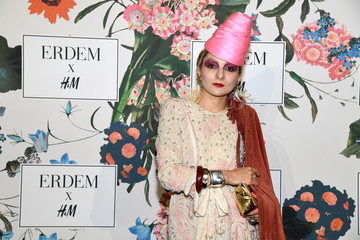 Catherine Baba ERDEM X H&M Paris Collection Launch - Photocall