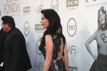 Catherine Zeta Jones Arrivals at the AFI Life Achievement Award