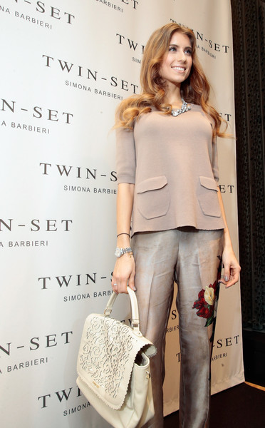 44c8828794d93f Cathy Fischer Photos Photos - TWIN-SET Simona Barbieri Flagship ...