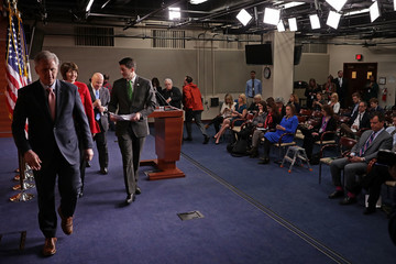 Cathy McMorris Rodgers House GOP Leaders Speak To Press After Conference Meeting