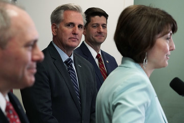 Cathy McMorris Rodgers Speaker Paul Ryan And House Leadership Speak To The Media After Their Weekly Conference Meeting