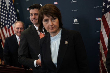 Cathy McMorris Rodgers House Speaker Paul Ryan Speaks To The Media After Weekly House Republican Conference