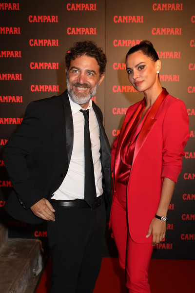 Campari Closing Party Entering Red [red,suit,premiere,formal wear,event,tuxedo,carpet,venice,italy,campari closing party entering red,cristian marazziti,catrinel marlon]